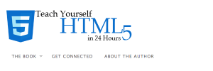 HTML5 in 24 Hours Contributor