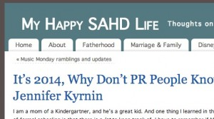 """Guest Post on """"My Happy SAHD Life"""""""